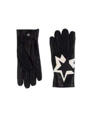 Перчатки NEIL BARRETT. Цвет: черный
