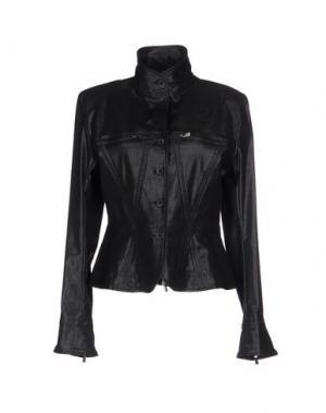 Куртка HOGAN by KARL LAGERFELD. Цвет: черный