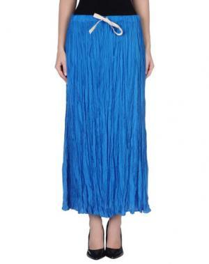 Длинная юбка GUARDAROBA by ANIYE. Цвет: лазурный
