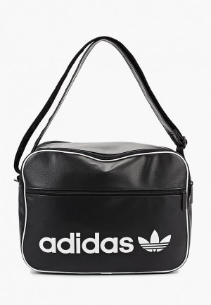 Сумка adidas Originals AIRLINER VINT. Цвет: черный