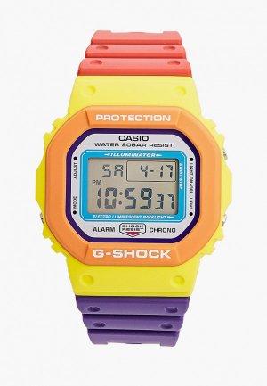 Часы Casio DW-5610DN-9ER, G-SHOCK. Цвет: разноцветный