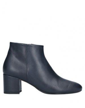 Полусапоги и высокие ботинки ANNA F.. Цвет: темно-синий
