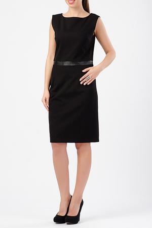 Платье TUZUN. Цвет: черный