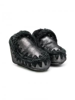 Угги Eskimo Mou Kids. Цвет: черный