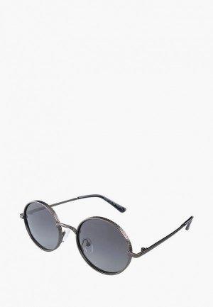 Очки солнцезащитные Ray Flector. Цвет: серебряный