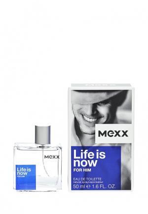 Туалетная вода Mexx Life Is Now Man 50 мл