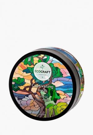 Маска для волос Ecocraft роста и против выпадения Captivating oudh. Цвет: прозрачный