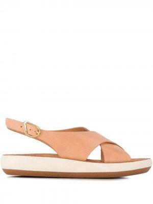 Сандалии Maria на платформе Ancient Greek Sandals. Цвет: нейтральные цвета