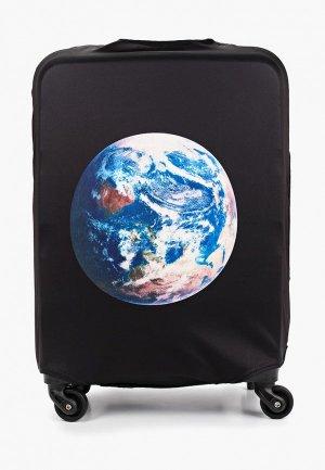 Чехол для чемодана Fabretti S. Цвет: черный