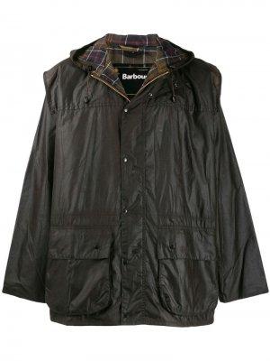 Вощеная куртка Durham Barbour. Цвет: коричневый