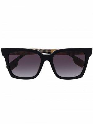 Square tinted sunglasses Burberry Eyewear. Цвет: черный