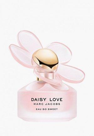 Туалетная вода Marc Jacobs Daisy Love Eau So Sweet, 30 мл. Цвет: розовый