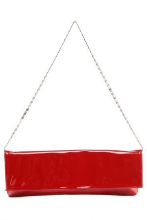 Клатч Arcadia. Цвет: красный
