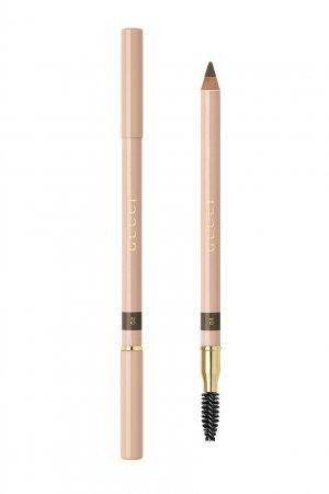 Crayon Définition Sourcils – Пудровый карандаш для бровей 4 Brun Gucci Beauty. Цвет: коричневый