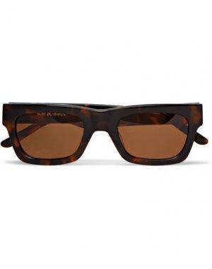 Солнечные очки SUN BUDDIES. Цвет: темно-коричневый