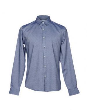 Pубашка HAMAKI-HO. Цвет: синий