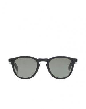 Солнечные очки GARRETT LEIGHT CALIFORNIA OPTICAL. Цвет: черный
