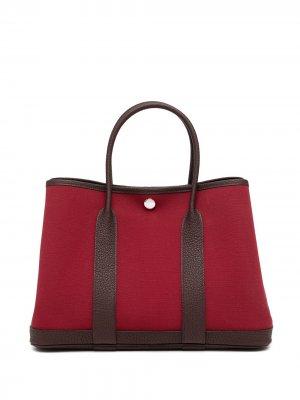 Сумка-тоут Garden Party TPM pre-owned Hermès. Цвет: красный