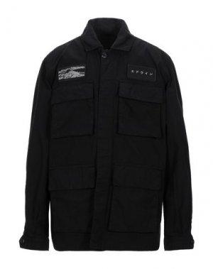 Куртка EDWIN. Цвет: черный