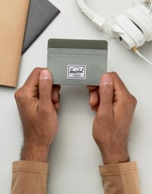 Визитница Herschel Supply Co. Цвет: зеленый