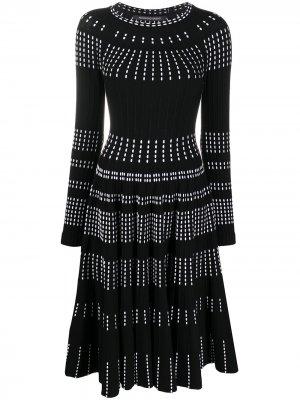 Трикотажное платье Bernice Antonino Valenti. Цвет: черный