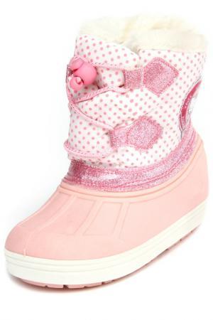 Сапоги Hello Kitty. Цвет: розовый, белый