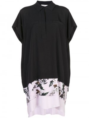 95b57d01c18c Платье-рубашка из крепдешина