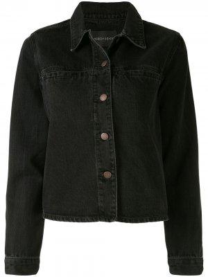 Джинсовая куртка Juncture Nobody Denim. Цвет: черный