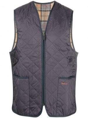 Quilted gilet jacket Barbour. Цвет: зеленый