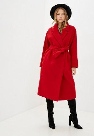 Пальто Geox. Цвет: красный