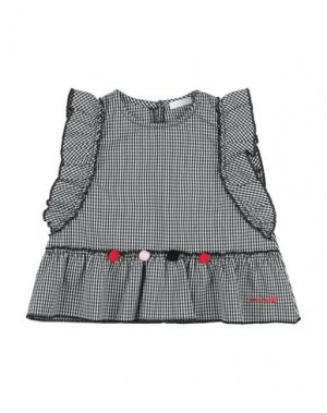 Блузка NANÁN. Цвет: черный