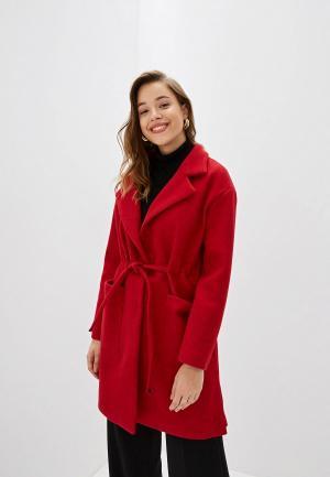 Пальто Rossa. Цвет: красный
