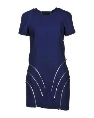 Короткое платье JAY AHR. Цвет: темно-фиолетовый