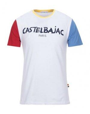 Футболка CASTELBAJAC. Цвет: белый