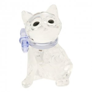 Скульптура Kitten Swarovski. Цвет: прозрачный
