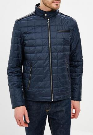 Куртка утепленная Al Franco MP002XM0YI6V. Цвет: синий