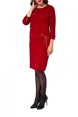 Платье Caterina Leman. Цвет: бордовый (00/16)