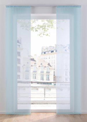 Прозрачная штора (1 шт.) bonprix. Цвет: синий