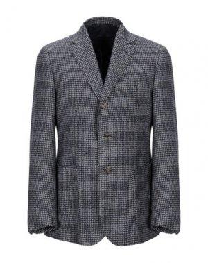 Пиджак STILE LATINO. Цвет: темно-синий