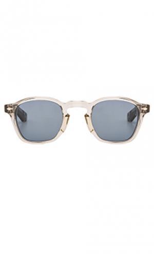 Солнцезащитные очки zephirin Jacques Marie Mage. Цвет: серый