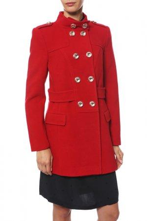 Пальто Анора. Цвет: красный