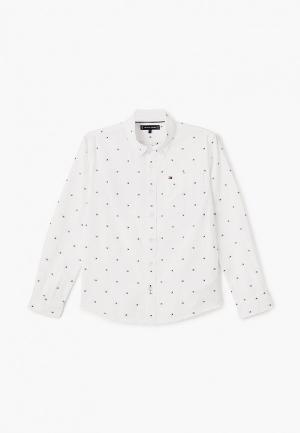 Рубашка Tommy Hilfiger. Цвет: белый