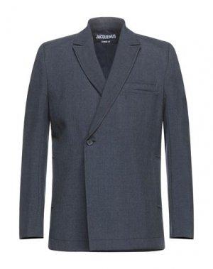 Пиджак JACQUEMUS. Цвет: темно-синий