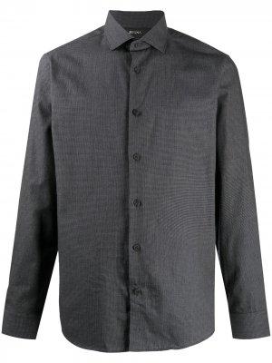 Button-down shirt Z Zegna. Цвет: черный