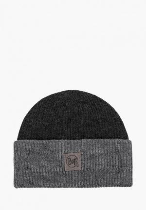 Шапка Buff Knitted Hat Yulia. Цвет: серый