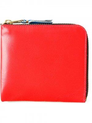 Бумажник Super Fluo Comme Des Garçons Wallet. Цвет: желтый