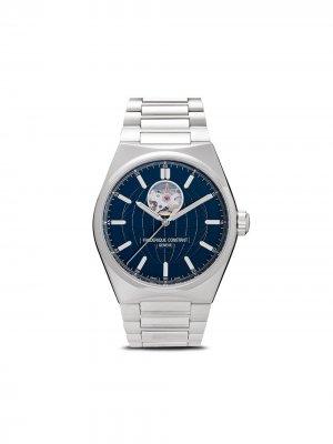 Наручные часы Highlife Heart Beat 41 мм Frédérique Constant. Цвет: синий
