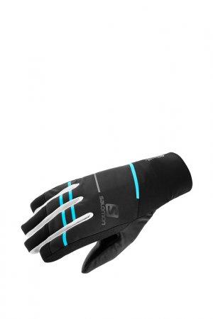 Перчатки RS PRO WS GLOVE U Salomon. Цвет: черный