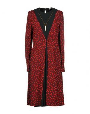 Платье до колена ALTUZARRA. Цвет: красно-коричневый