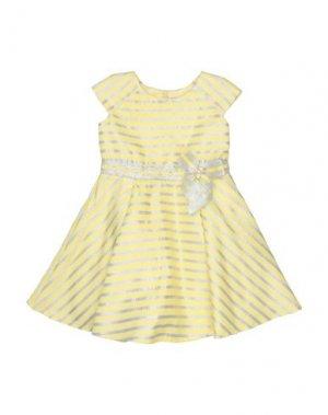 Платье LòLò. Цвет: желтый